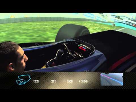 Formula 1 2010 - Track Simulation Brazil - Sebastien Buemi