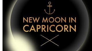 New Moon In Capricorn ♑️ Jan 5 2019 Partial Solar Eclipse