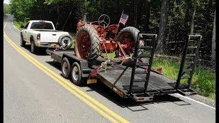 Refurbishing a 5 ton equipment trailer