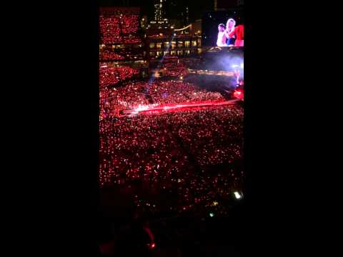 Taylor Swift at Petco Park San Diego 8/29