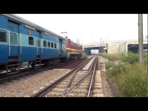 Bihar Sampark Kranti Express With Hwh Wap-4. video