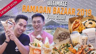 GEYLANG SERAI RAMADAN BAZAAR 2019 FOOD GUIDE | Eatbook Vlogs | EP 99