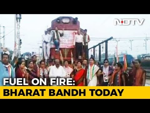 Congress, Left Call For Bharat Bandh Against Rising Fuel Prices