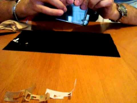 Sostituzione/riparazione vetro rotto iphone 3g/3gs-Replacement broken glass Iphone 3g/3gs-PART 2