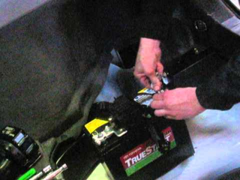 Gen 2 Prius - replacing 12v battery