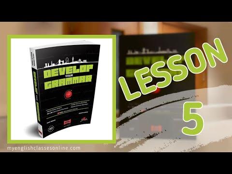 Lesson 5: Simple Past Tense