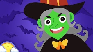 Halloween Songs for Halloween Night! | Spooky Halloween Cartoons for Children | CheeriToons