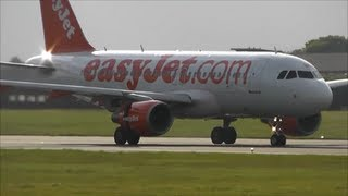 EasyJet **ABORTED TAKE OFF** London Luton Airport!
