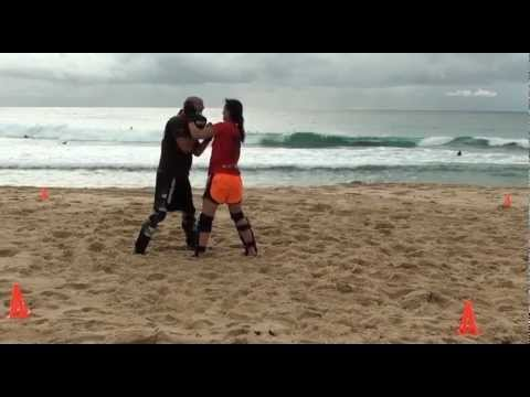 Easter Egg MMA Fun Drills with  Super Amy & Fitness Samurai HP Image 1
