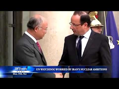 UN watchdog worried by Iran's nuclear ambitions