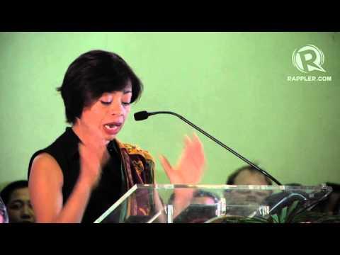 Sheila Coronel to 2015 Mass Communication graduates