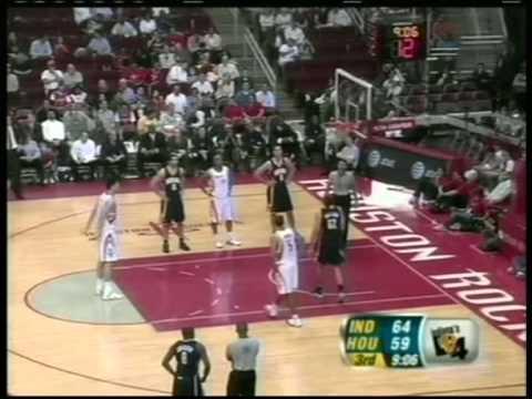 Yao Ming 38 pts,10 reb,4 blks, season 2005/06 rockets vs pacers