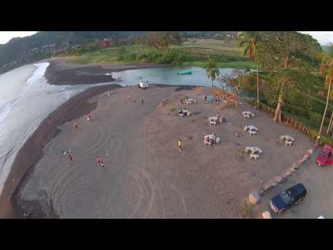 Sweet late afternoon flight at Playa Herradura Costa Rica