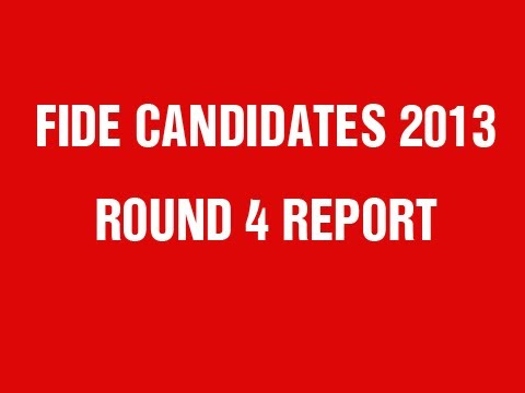 FIDE Candidates 2013 Round 4 Power Play Report - Carlsen vs Grischuk
