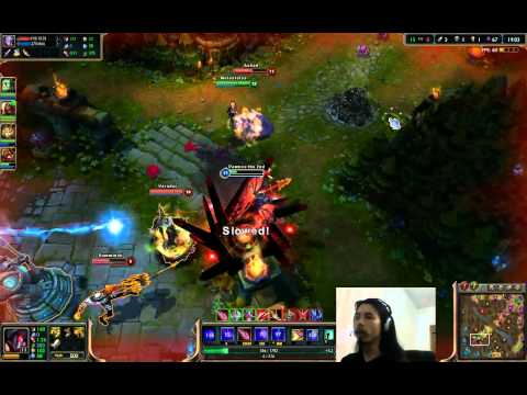 Jungle Aatrox Full Game Champion Spotlight - League of Legends Aatrox Gameplay (Jungle Game #2)