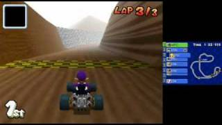 Mario Kart DS Action Replay Codes_ 300cc CPU's