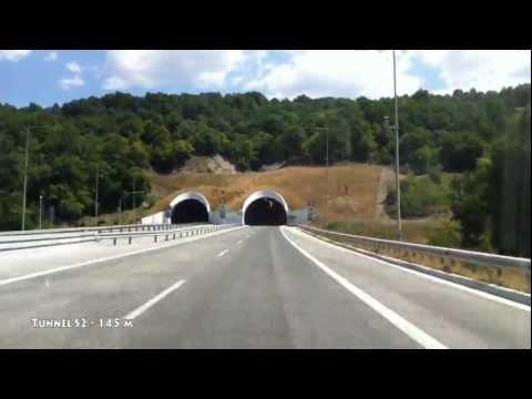 Greece: A2(Egnatia Odos) Ioannina - Thessaloniki ~ PART 1 (Ioannina - Kozani)