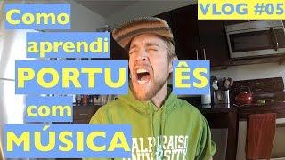 Como aprendi PORTUGUÊS com MÚSICA | SA VLOG #05 | THE MUSIC TAG