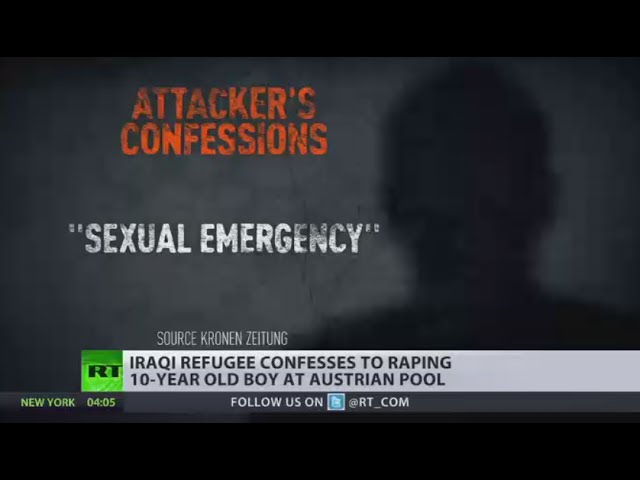 'Sexual emergency' Iraqi refugee raped 10yo boy at swimming pool in Austria
