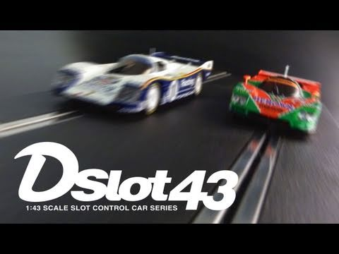 Kyosho Dslot43 Unveiled  -1:43 Scale Slot Car Dslot43