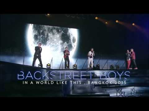 Toyota Altis Presents Backstreet Boys In A World Like This, Bangkok 2015 video