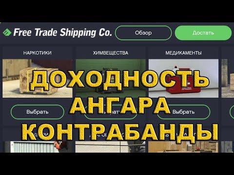 Доходность Ангара Контрабандистов (GTA Online)