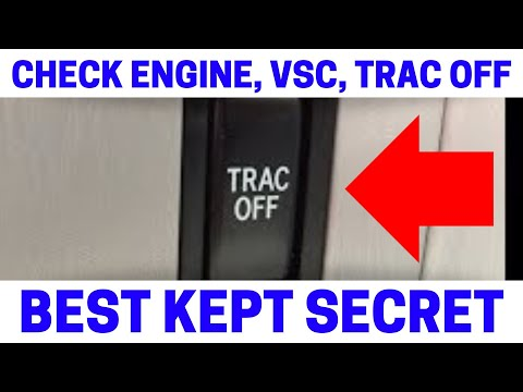 (Part 6) How To Fix Your Check Engine. VSC. Trac Off Warning Lights On