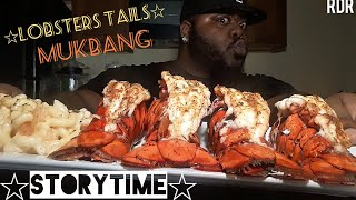 ??Lobsters Tails Mukbang??(StoryTime)[Eating Show]!!!