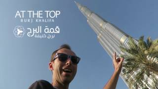 At the Top of Burj Khalifa for Sunset | Dubai, UAE