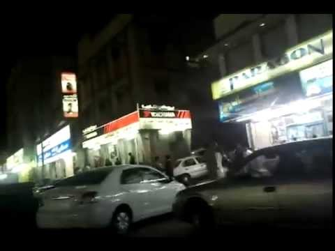 An evening in Al Batha Market , Riyadh , Saudi Arabia.mp4
