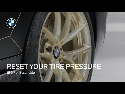 How to Reset Your Tire Pressure Monitor Light on a Non-iDrive BMW