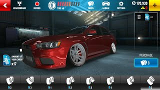 Drift Max Pro - Car Drifting Games Android Modified EVO X