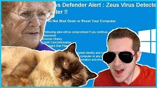 Super Angry Scammer Threatens To Slap Grandma's Cat