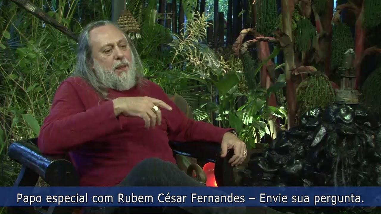 Rubem César fala para o público o seu ponto de vista sobre sua candidatura!