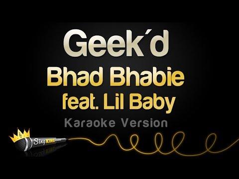 Bhad Bhabie feat. Lil Baby - Geek'd (Karaoke Version)