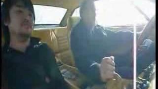 LAMBORGHINI JARAMA  1972 DRIVING INSIDE