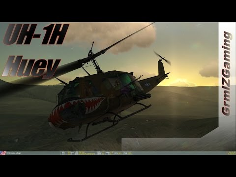 DCS - Bell UH-1H Huey // Helicopter Legend
