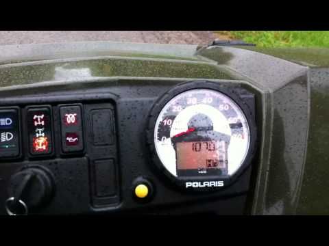 2012 Ranger Crew Diesel top speed