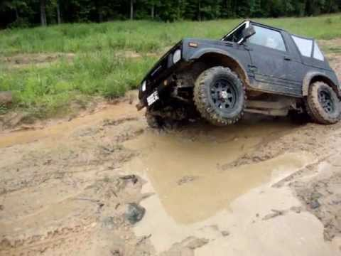 Suzuki Samurai Off Road 4X4 Amazing Recovery