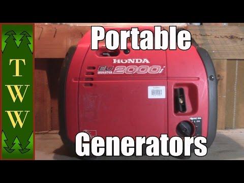 Portable Generator Buying Tips & Review of My 12 Yr Old Honda EU2000i