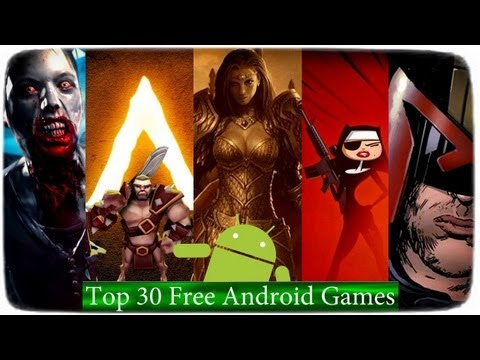 Top 30 Best Free Android Games 2012-2013 [Game For Kids]