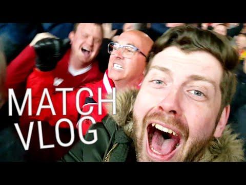 LIVERPOOL 3-0 MAN CITY   MATCH VLOG   CHAMPIONS LEAGUE Quarter Finals