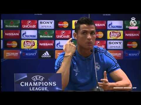 Rueda de prensa | Cristiano Ronaldo | Roma | UCL