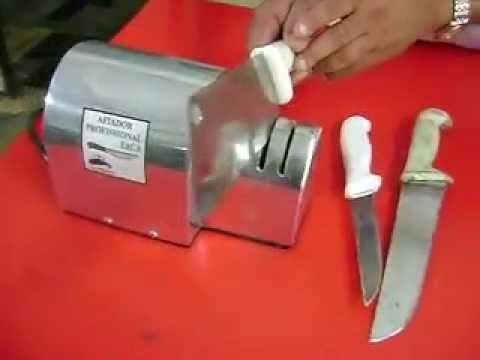 Afiador de facas profissão