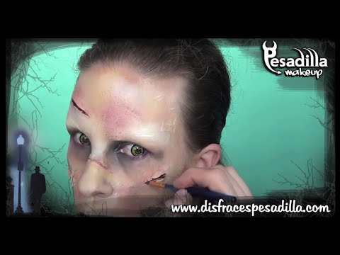 Exorcista Tutorial Maquillaje