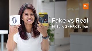 Fake vs Real Mi Band 2 / HRX Edition | 5 Ways to Identify