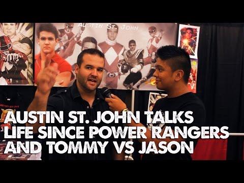 Austin St. John Talks Life Since Power Rangers and Tommy VS Jason