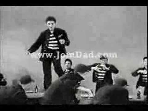Elvis Presley jail House Rock Video video