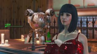 Fallout 4 - Lesbian date with anime curves