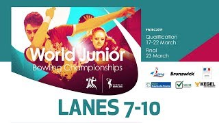 Doubles Squad A Lanes 710 World Bowling Junior Championships